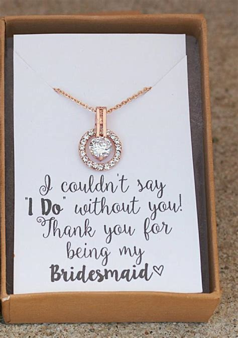 bridal shower gifts from matron of honor bridesmaid necklace bridesmaid gift personalized wedding gold necklace of honor gift