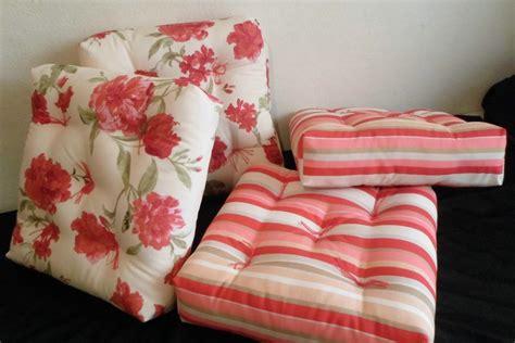 almofadas futon 55x55 almofada futon para bancos e pallets promo 231 227 o r 95