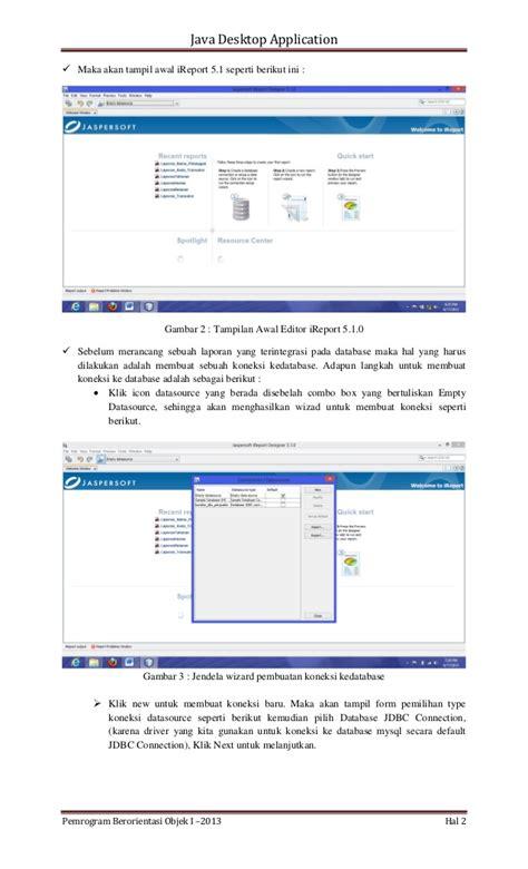 membuat form login menggunakan database mysql membuat laporan menggunakan i report 5 by depandi enda