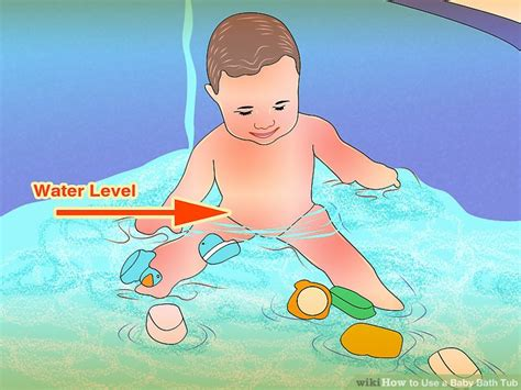 Where To Use Baby Bath Tub - how to use a baby bath tub 12 steps with pictures wikihow