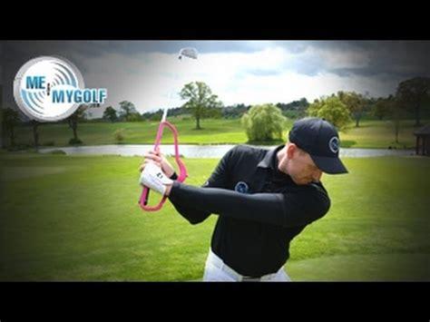 golf swing left wrist left wrist flat at top of golf backswing youtube
