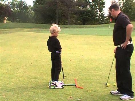 impact swing trainer golf swing training ball first impact youtube