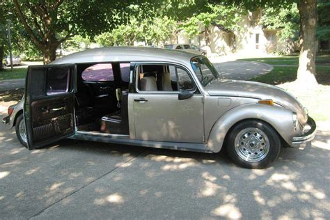 Volkswagen Limo by Sweet Stretch 1972 Volkswagen Beetle Limo