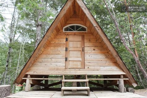 micro a frame cabin vacation rental for gling tiny