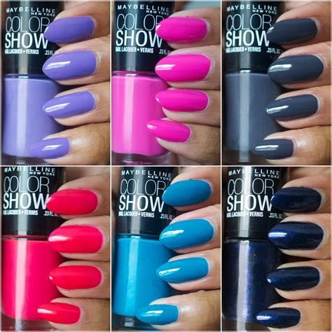 Maybelline Color Show de lacquer maybelline color show nail polishes they rock nail