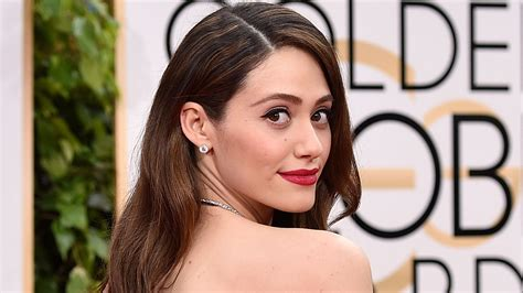emmy rossum curly emmy rossum posts rare photo of natural curly hair