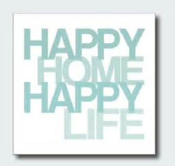 happy home happy life quote gagthat