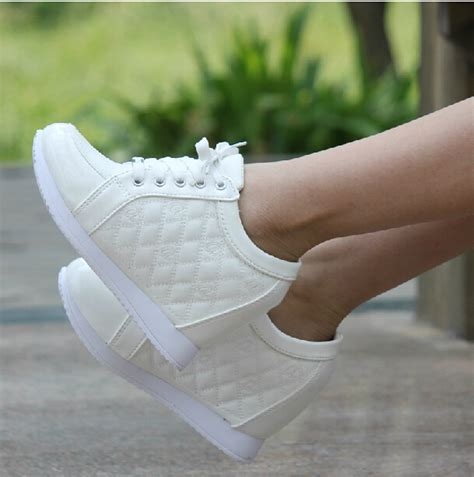 sports high heels 8cm and autumn elevator sports shoes