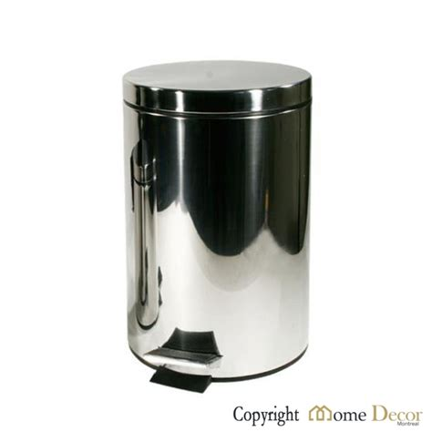 stainless steel home decor stainless steel garbage cans home decor montreal