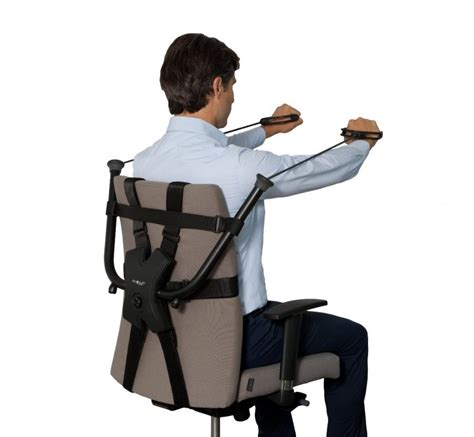 Exercise For Chair by This Workout Device Attaches To Your Work Chair For