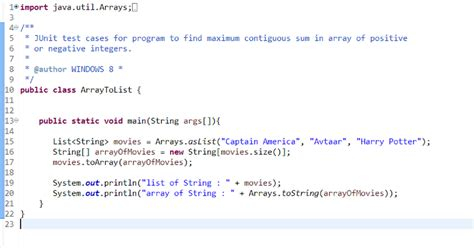 java pattern to convert one object to another how to convert list to array in java and vice versa java67