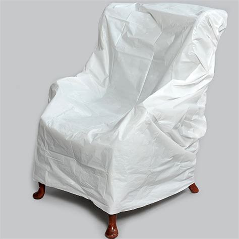 plastic armchair covers plastic armchair covers single clarks removal boxes