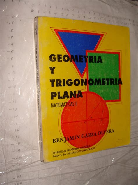libro ben 10 libro libro geometria y trigonometria plana matematicas ii ben 120 00 en mercado libre