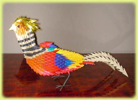 3d origami tweety bird tutorial origamis 3d hilandera de almas