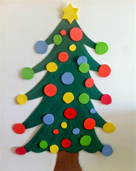 arboles de navidad manualidades infantiles c 243 mo hacer un 225 rbol de navidad con goma manualidades