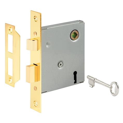 sliding door parts faceplate repair prime line steel keyed mortise lock e 2294 the home depot