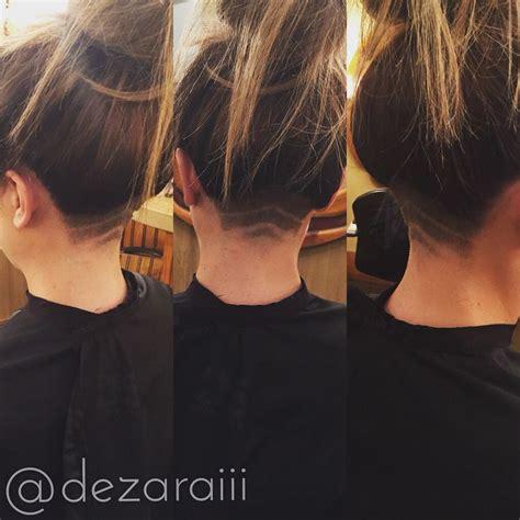 hidden undercut by dezarai at fringe salon wichita ks
