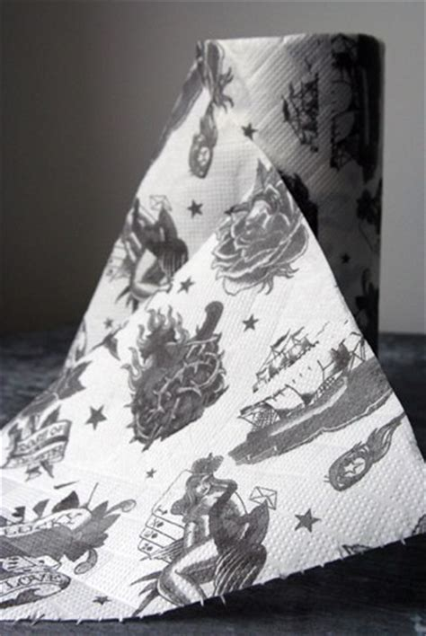 tattoo paper roll tatoo designs paper towel rolls craziest gadgets