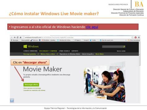 tutorial windows movie maker live tutorial c 243 mo instalar windows live movie maker