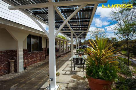 lumos lsx solar patio covers awnings modern denver