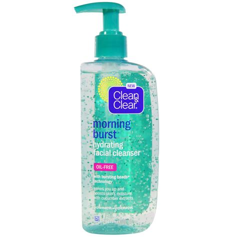 clean and clear bursting review clean clear morning burst hydrating cleanser 8