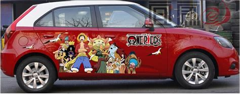 Car Sticker One Piece by 2018 Itasha Anime One Piece Car Stickers Monkey D Luffy