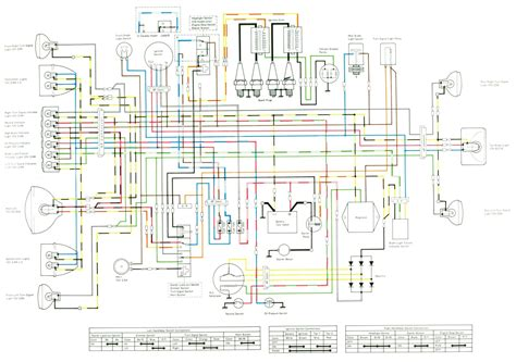 kawasaki kz1000 ltd wiring diagram yamaha rd400 wiring