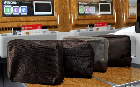 Travel Kit Bvlgari Edition From Emirates Airlines josanne cassar emirates refreshes its bvlgari amenity kits in and business class