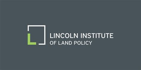 lincoln institute lincoln institute of land policy branding