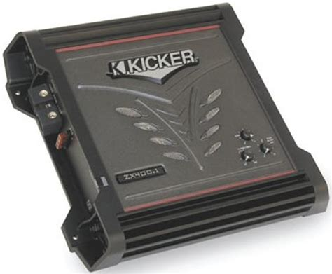 Kicker Zx400 1 kicker 06 zx400 1 zx car audio 400 watt class d