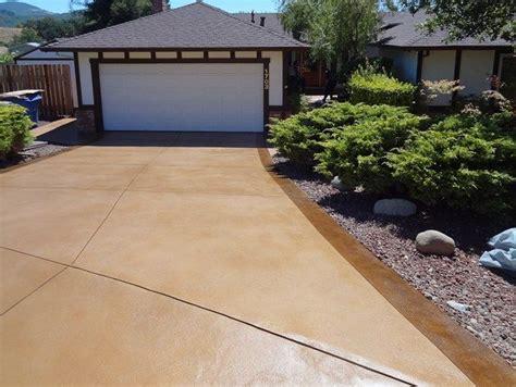 acid wash concrete patio resurfaced driveway concrete driveways concrete product