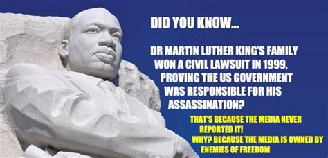 how the government killed martin luther king jr martin luther king