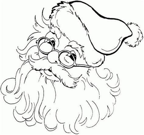 cute santa coloring pages 60 best santa templates shapes crafts colouring pages