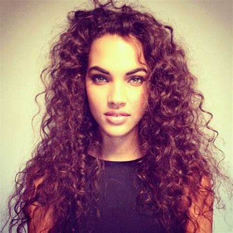 Frizzy Curly Hairstyles by 20 Hairstyles For Curly Frizzy Hair Hairstyles 2016