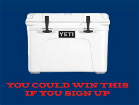 Yeti Cooler Giveaway - yeti tundra cooler giveaway 4 winners one entry heavenly steals