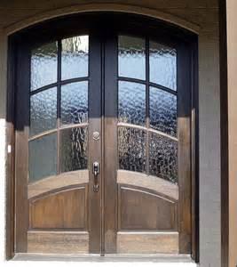 Wood Glass Front Door Solid Wood Front Door With Glass Design Interior Home Decor