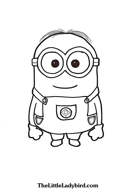 minions stuart playing guitar coloring page download free minion printable coloring minions stuart