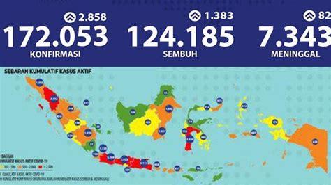update virus corona  indonesia  jatim minggu