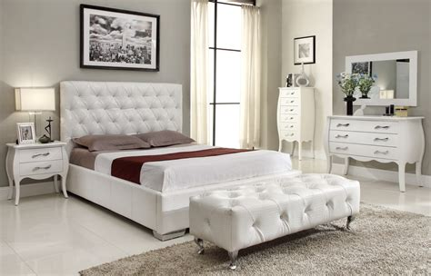michelles bedroom furniplanet com buy michelle white queen size bed at