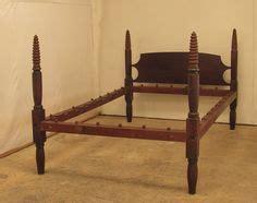 antique  poster tiger maple rope bed antique furniture