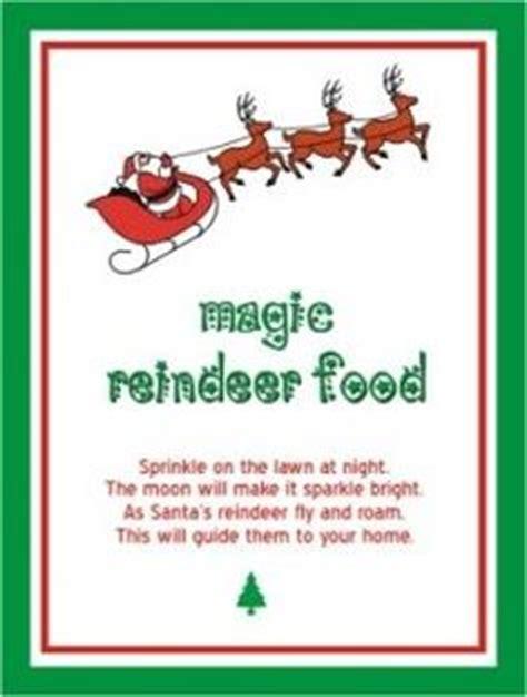 printable magic reindeer poem cas we and the o jays on pinterest
