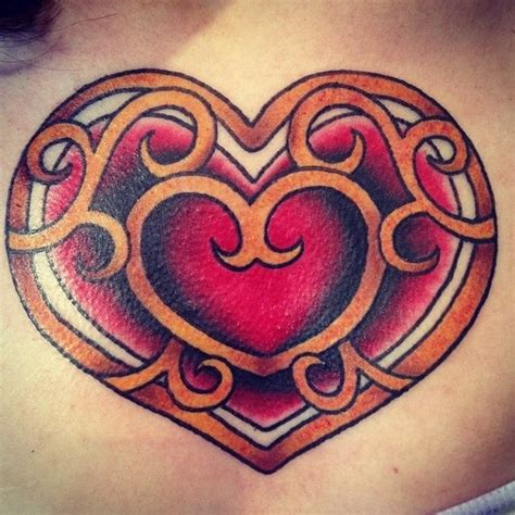 zelda hearts tattoo the legend of container tattoos