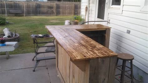 pallet bar top wooden pallet sectional bar table 101 pallet ideas