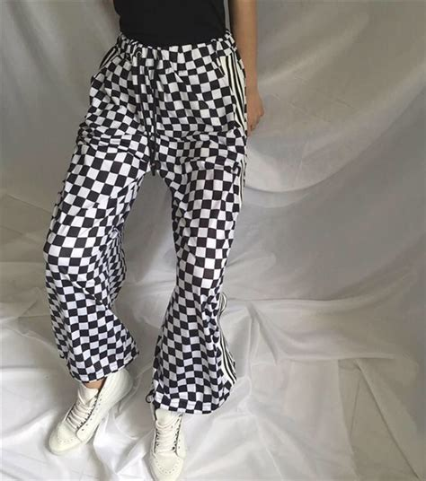 pants checkered jeans checkered pants black and white pants black black and white checkered pants checkered