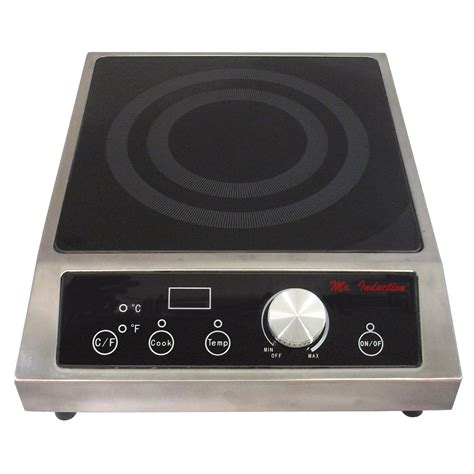 Countertop Cooktops Electric - spt 12 6 in countertop electric induction cooktop in