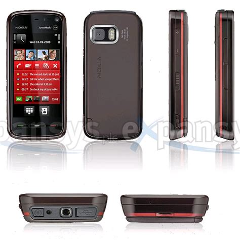Casing Hp Nokia 5800 Xpressmusic nokia 5800 xpress uk black expansys uk