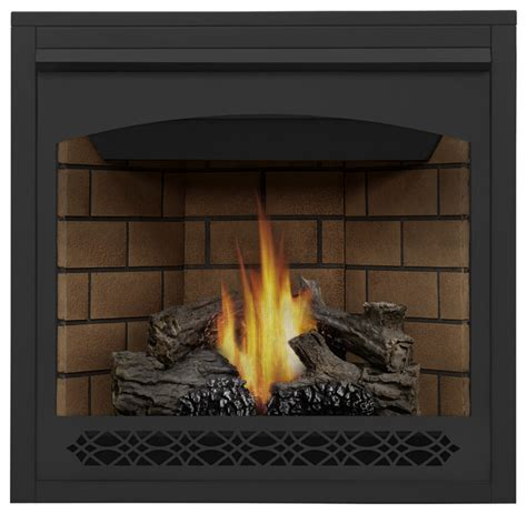 Fireplace Kits Indoor Gas by Clean Direct Vent Gas Fireplace Top Rear