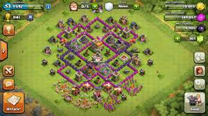 Coc th7 hybrid base layout
