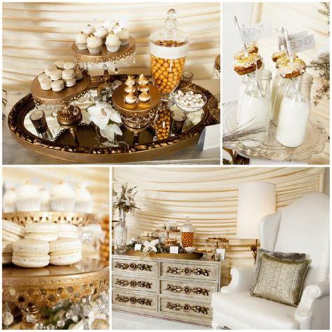Sweety Gold 22 kara s ideas 187 metallic dessert table with