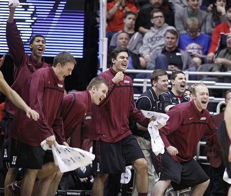 players bench salt lake city harvard s 1st ncaa win brings unexpected pride the portland press herald maine